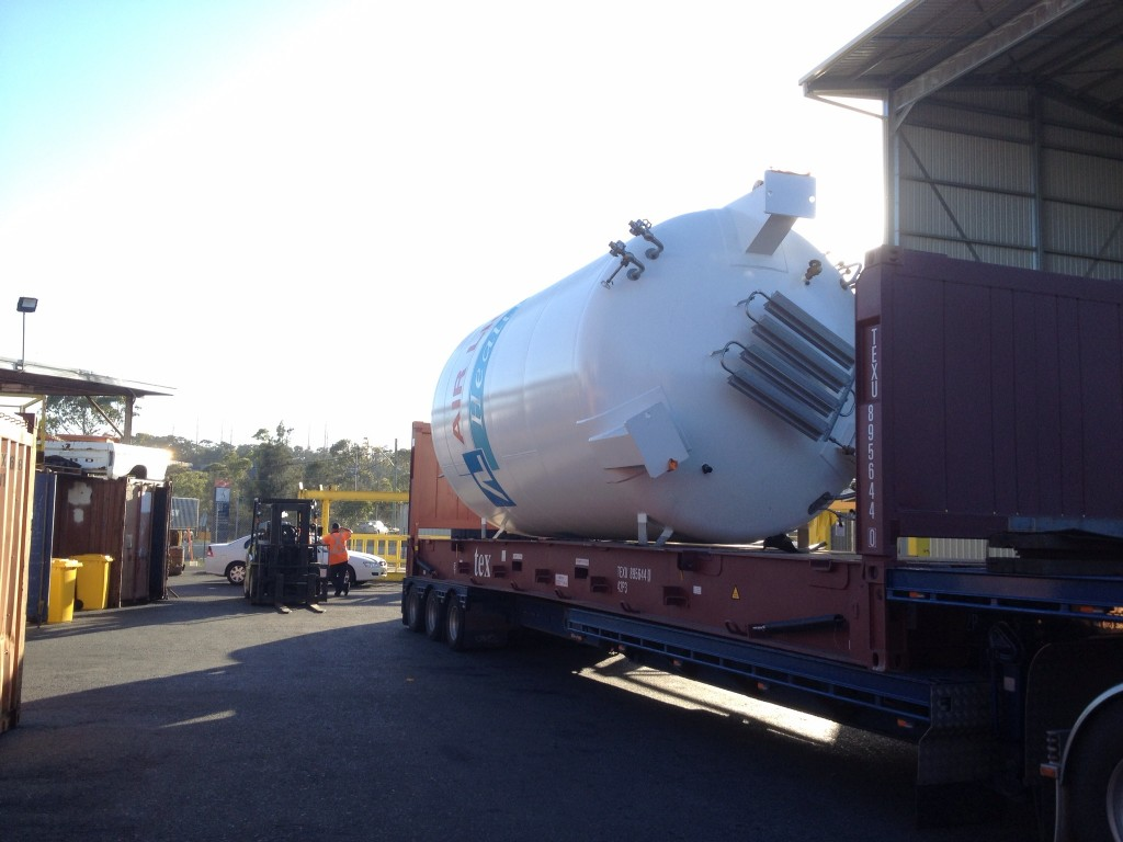 Linde tank (Import)