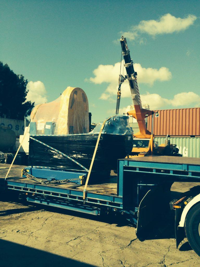 Crane Load Oversized Item