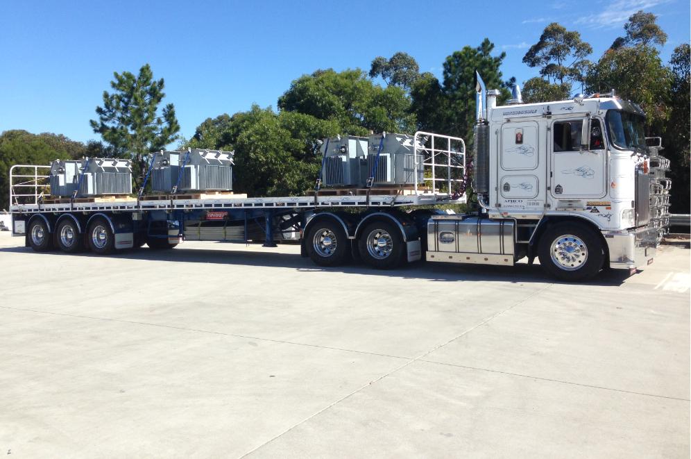 Transport of Transformers