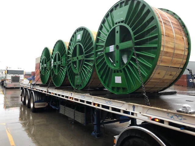 Cable Drum Transport