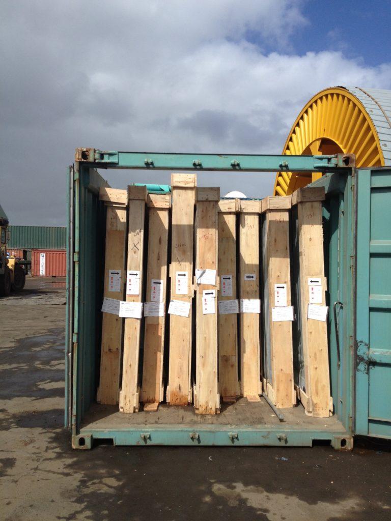 Crates Import Open Top