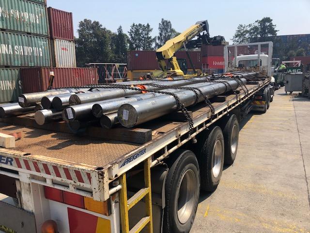 Transport Lengths of Steel